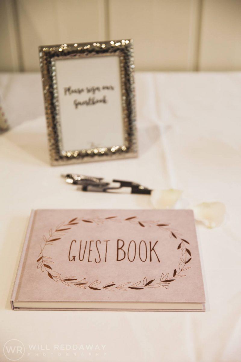 Dillington House Wedding | Devon Wedding Photographer | Guest Book
