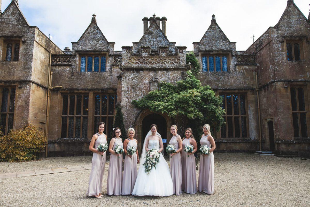 Dillington House Wedding | Devon Wedding Photographer | Bride & Bridesmaids