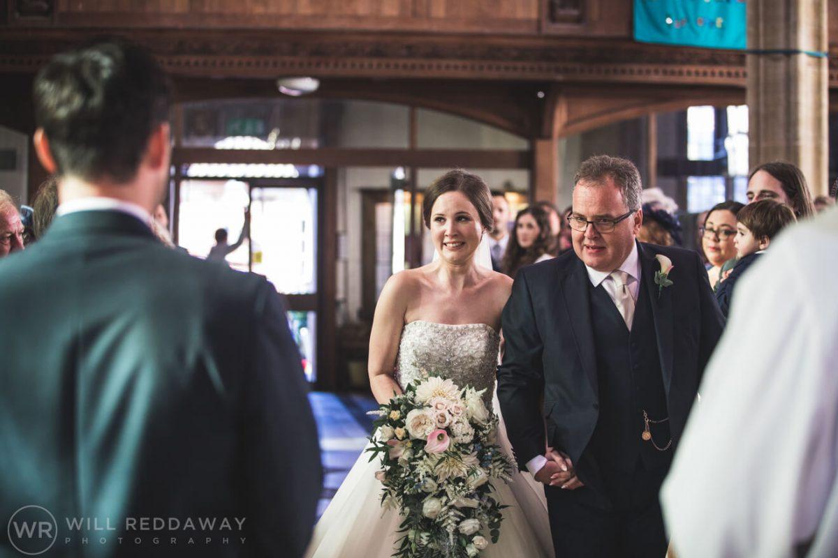 Dillington House Wedding | Devon Wedding Photographer | Church Ceremony
