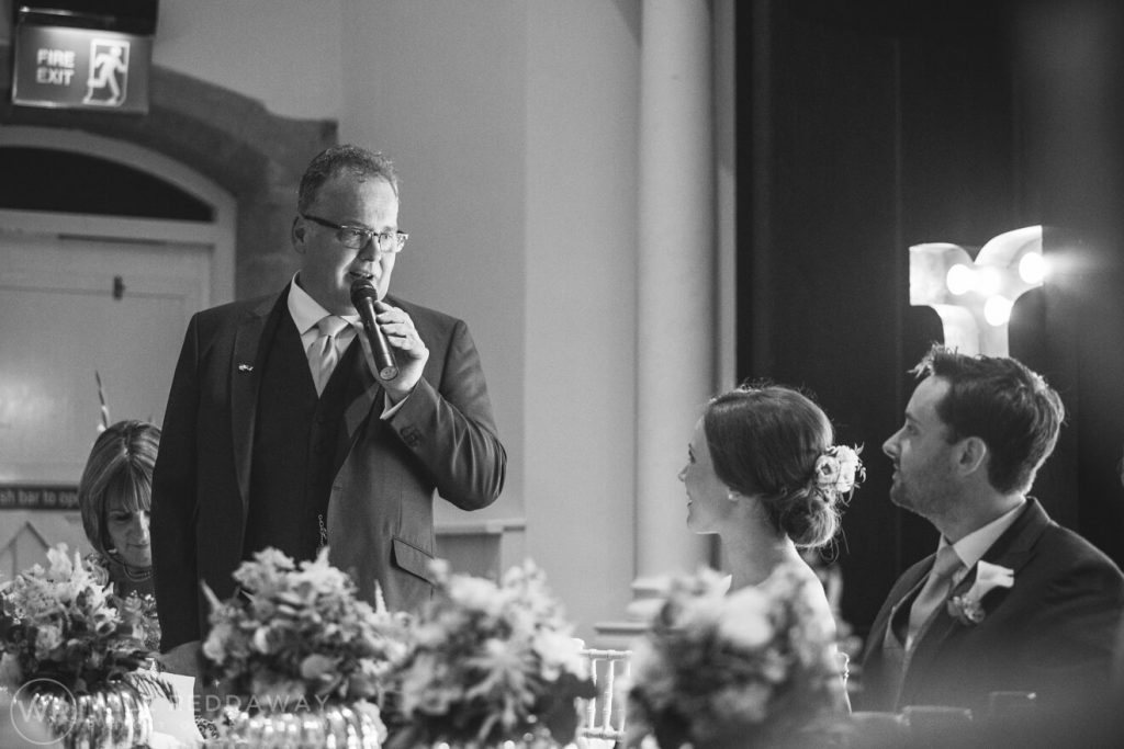 Dillington House Wedding | Devon Wedding Photographer | Father Of The Bride Speech