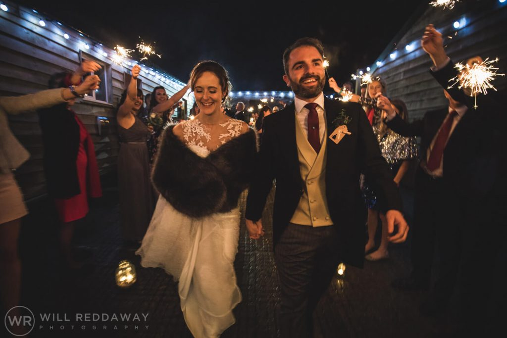 The Green Cornwall Wedding | Devon Wedding Photographer | Sparklers