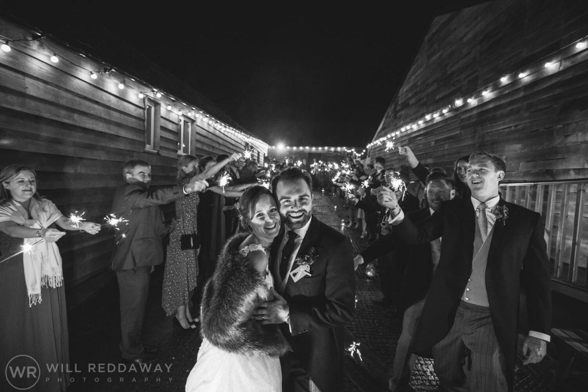 The Green Cornwall Wedding | Devon Wedding Photographer | Sparklers