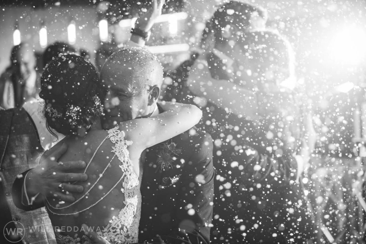 The Green Cornwall Wedding | Devon Wedding Photographer | Daddy Daughter Dance