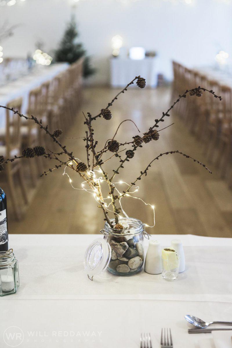 The Green Cornwall Wedding | Devon Wedding Photographer | Venue Decoration