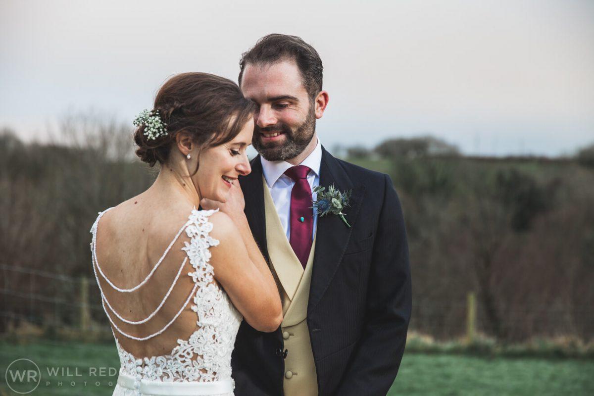 The Green Cornwall Wedding | Devon Wedding Photographer | Bride & Groom
