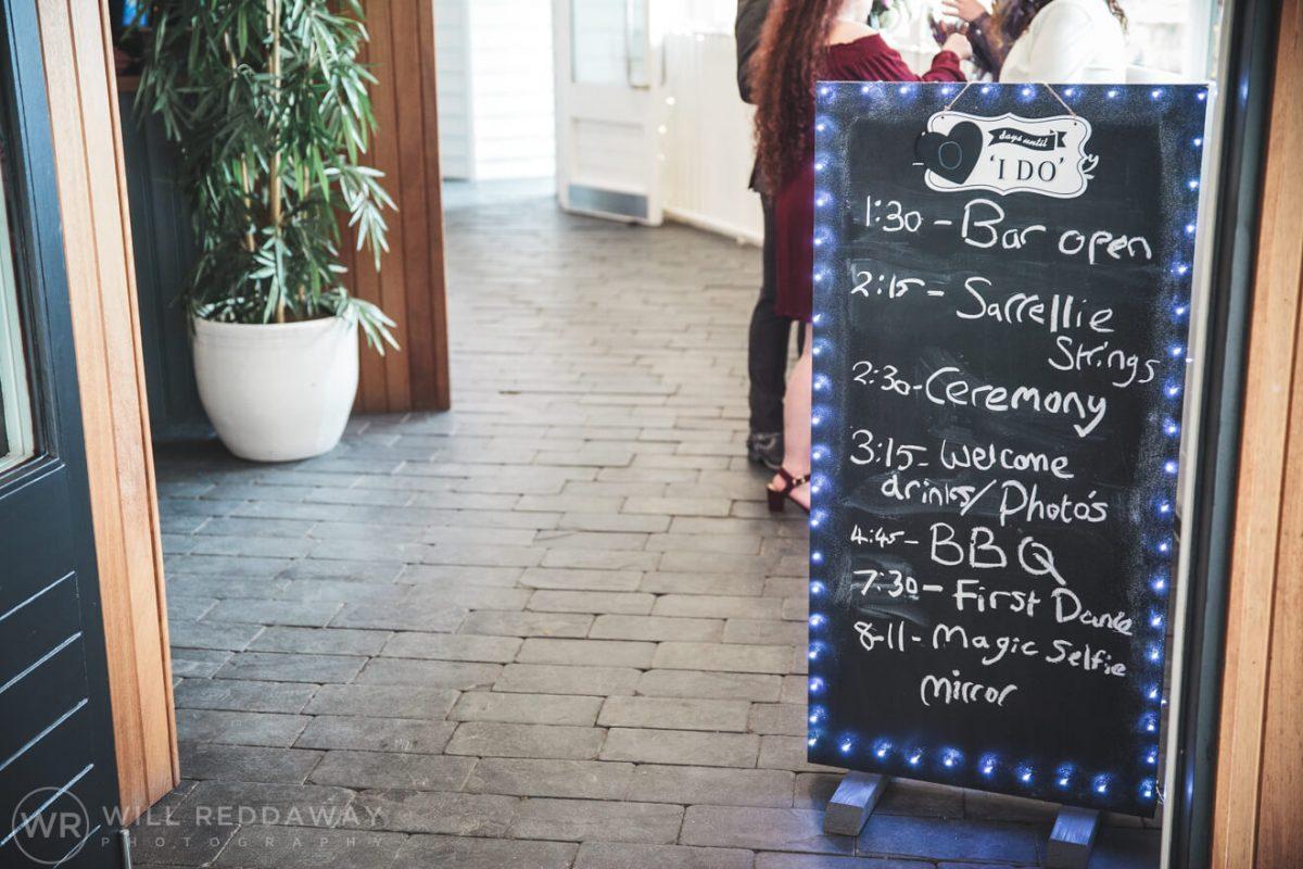 Tunnels Beaches Wedding | Devon Wedding Photographer | Wedding Decorations