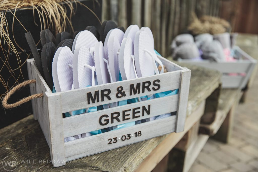 Tunnels Beaches Wedding | Devon Wedding Photographer | Wedding Decoration