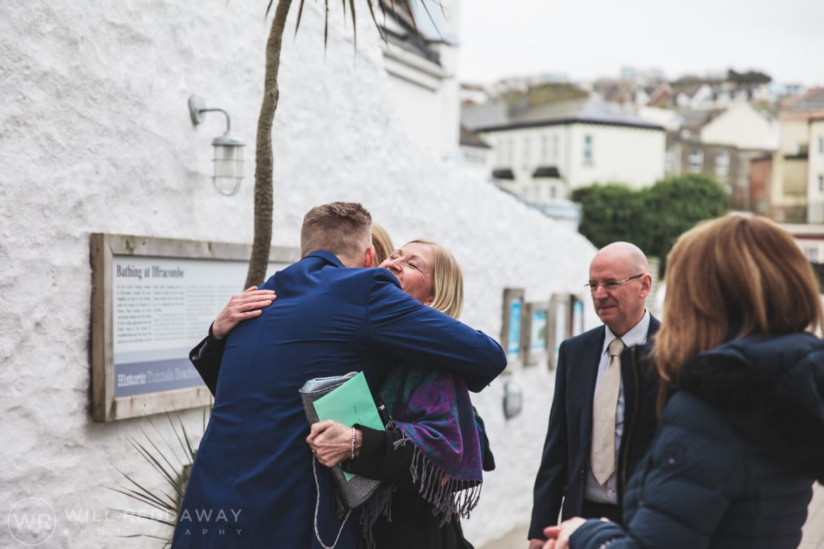 Tunnels Beaches Wedding | Devon Wedding Photographer | Wedding Guests