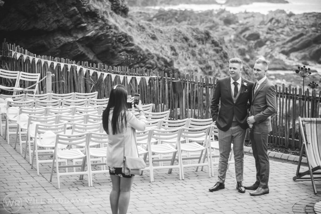 Tunnels Beaches Wedding | Devon Wedding Photographer | Wedding Guests