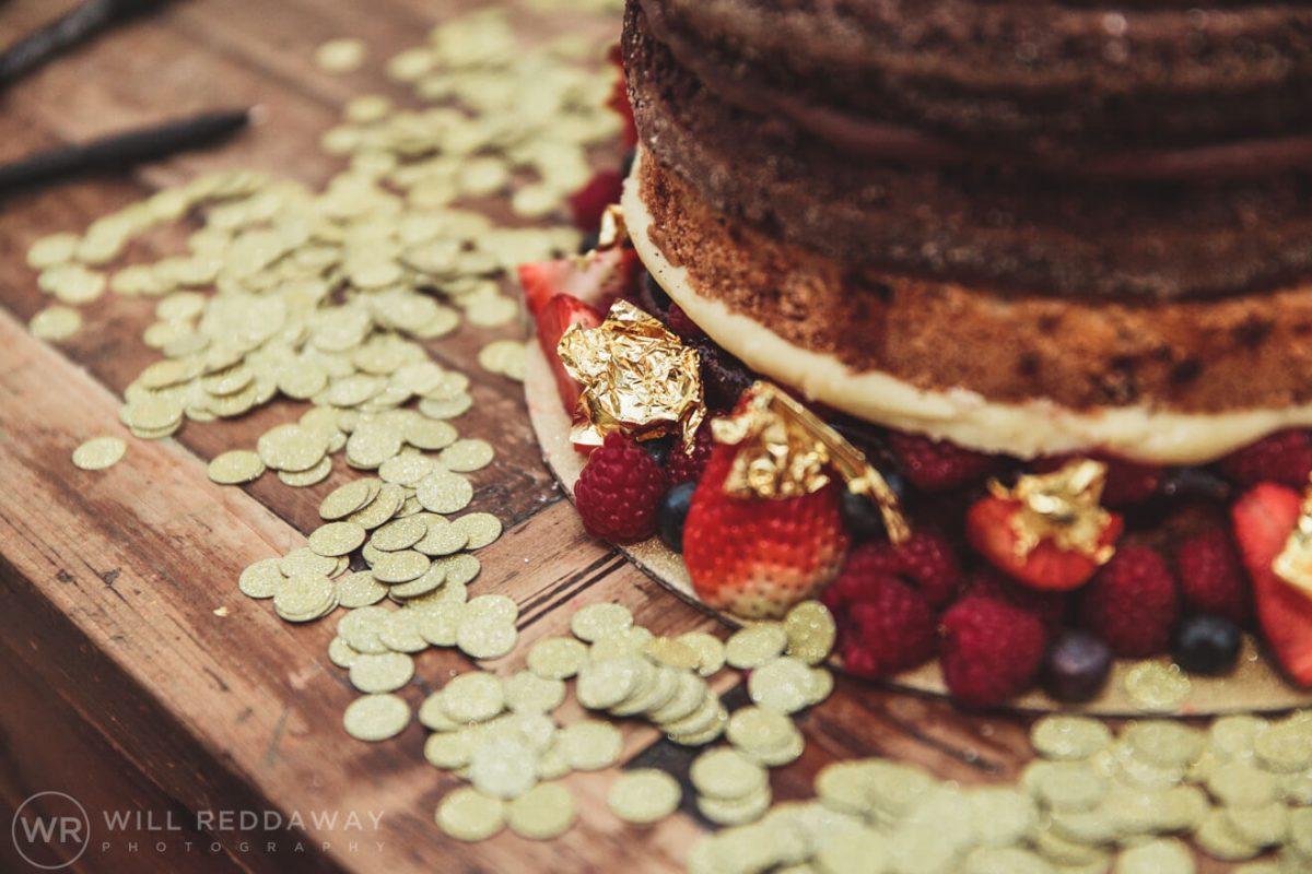 Tunnels Beaches Wedding | Devon Wedding Photographer | Wedding Cake