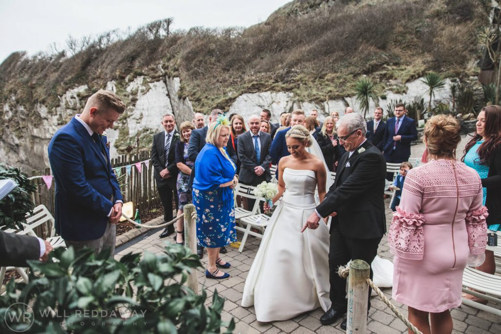 Tunnels Beaches Wedding | Devon Wedding Photographer | Bride