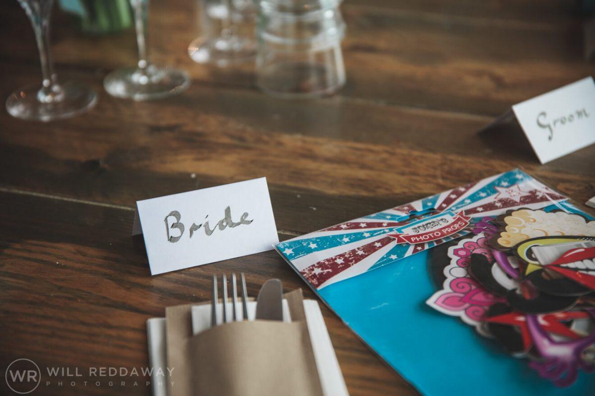 Tunnels Beaches Wedding | Devon Wedding Photographer | Decorations