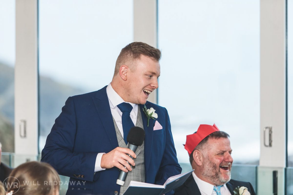 Tunnels Beaches Wedding | Devon Wedding Photographer | Bestman