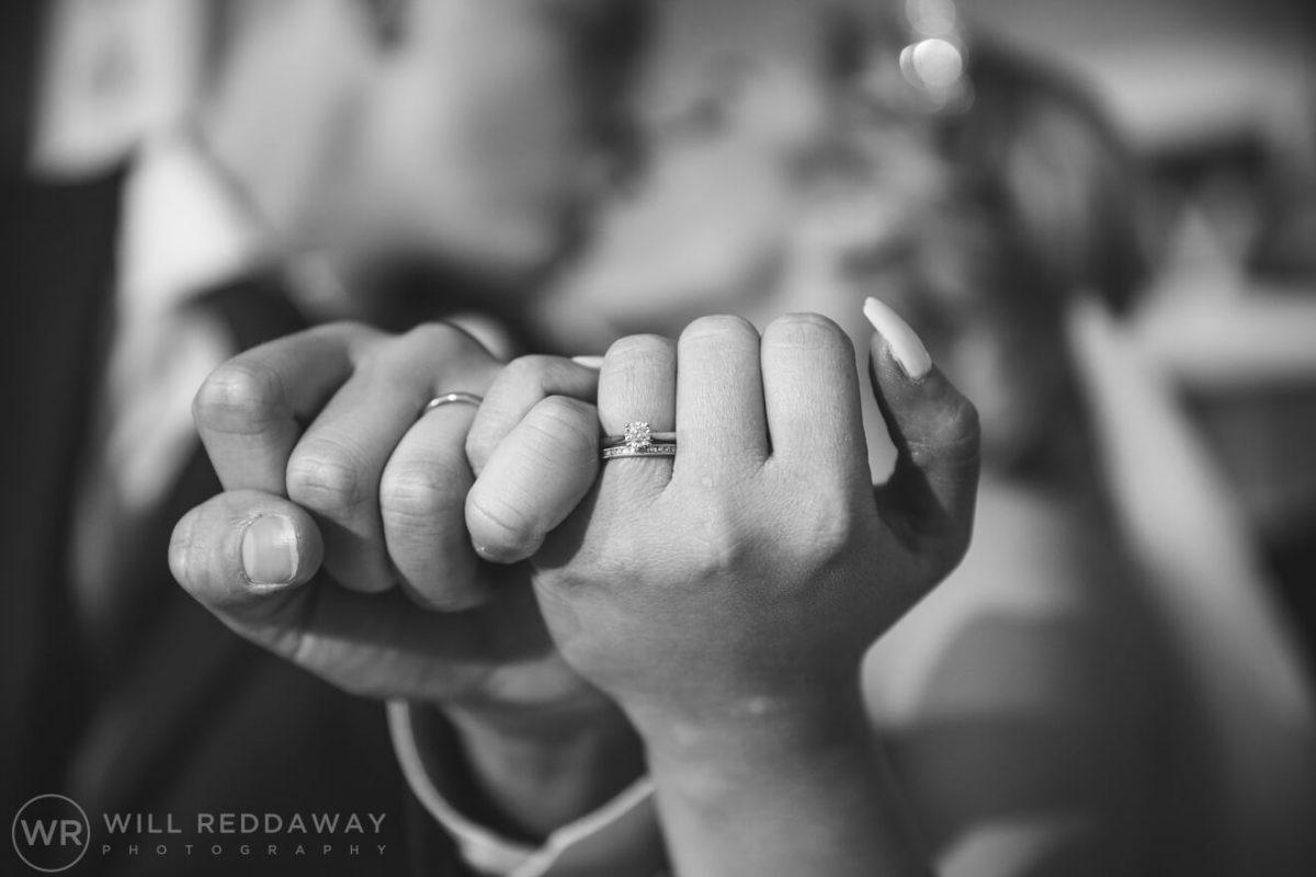 Tunnels Beaches Wedding | Devon Wedding Photographer | Wedding Rings