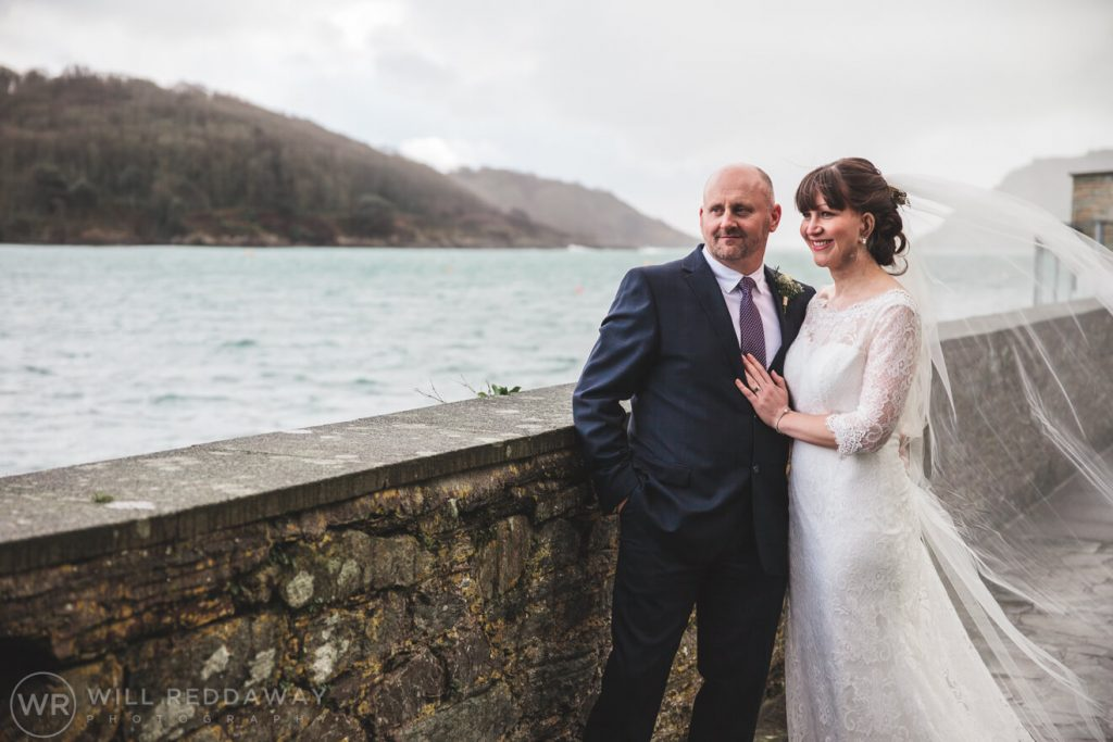 Salcombe Harbour Hotel Wedding | Devon Wedding | Bride & Groom
