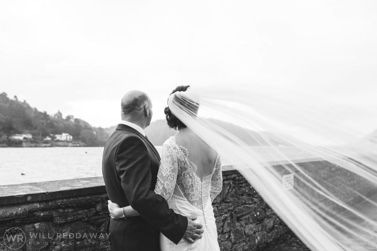 Salcombe Harbour Hotel Wedding | Devon Wedding | Bride & Groom