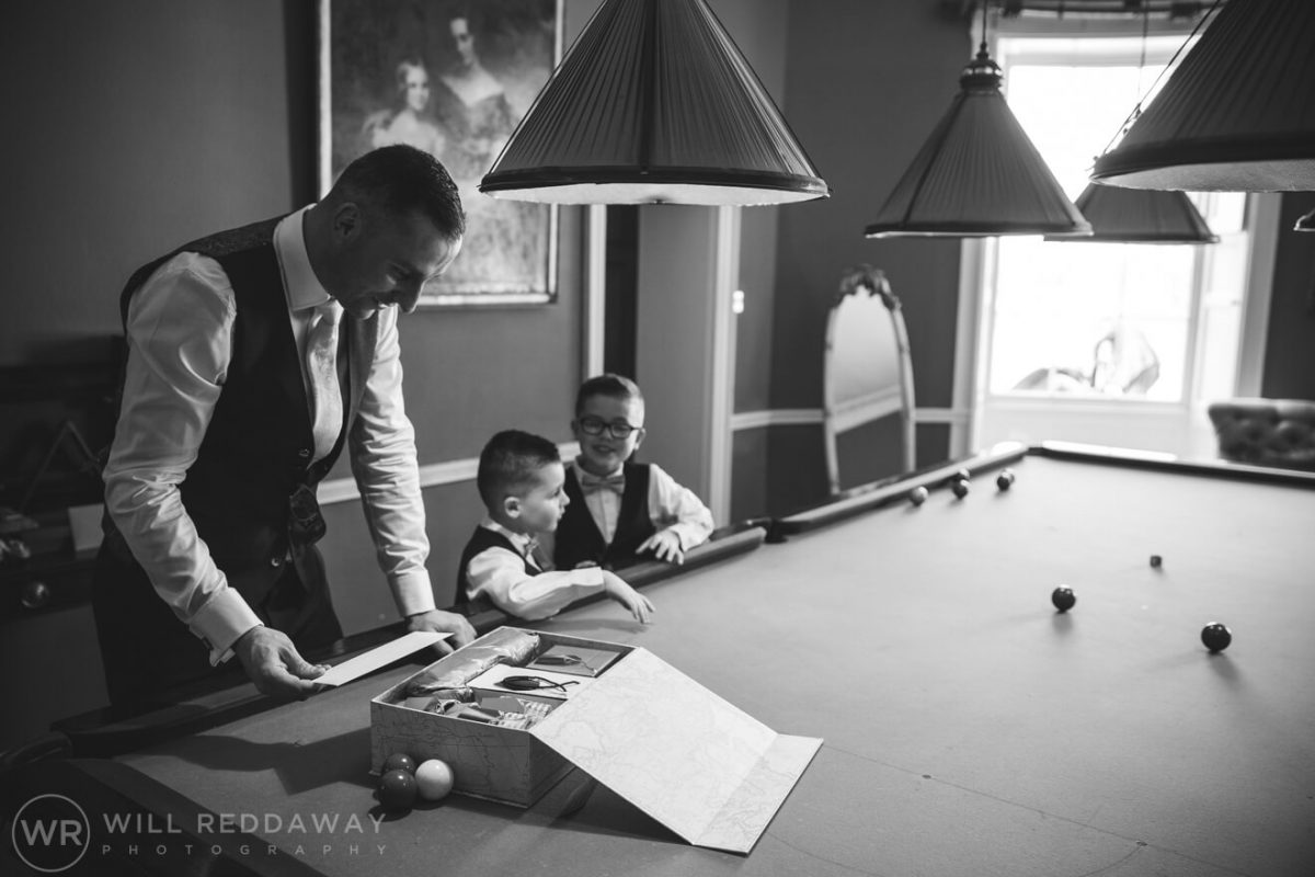 Rockbeare Manor Wedding | Devon Wedding Photographer | Groom Preparations