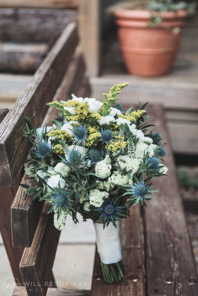 Deers Leap Retreat Wedding | Devon Wedding Photographer | Bouquet