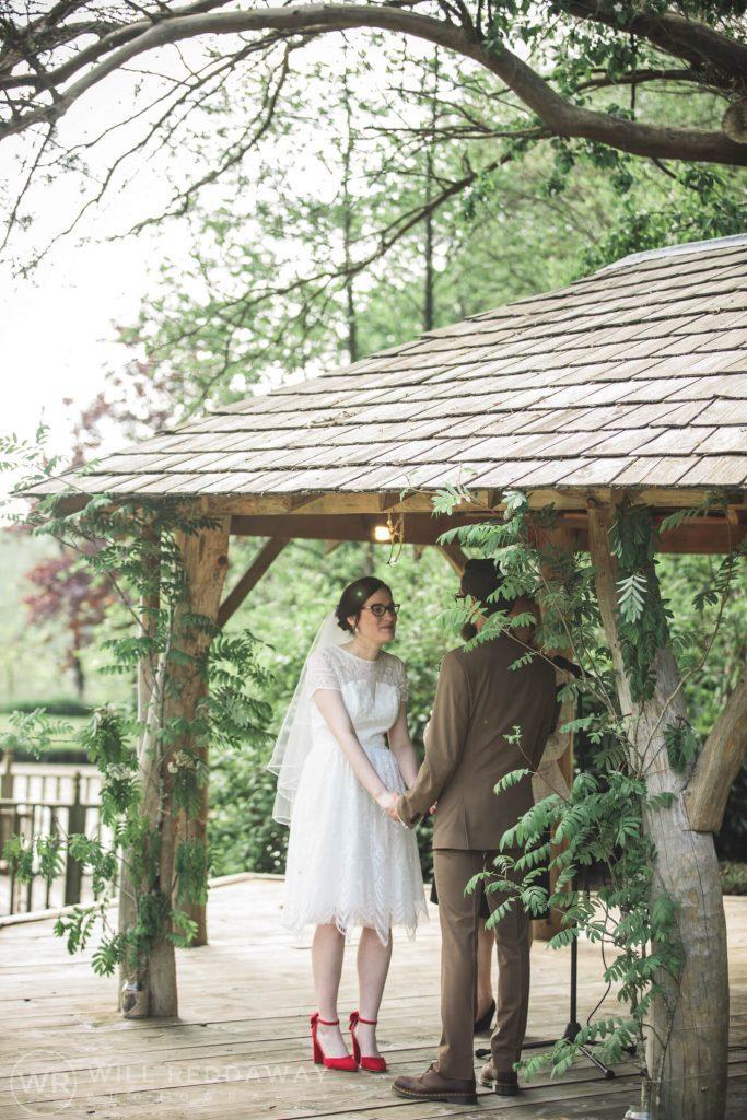 Deers Leap Retreat Wedding | Devon Wedding Photographer | Ceremony