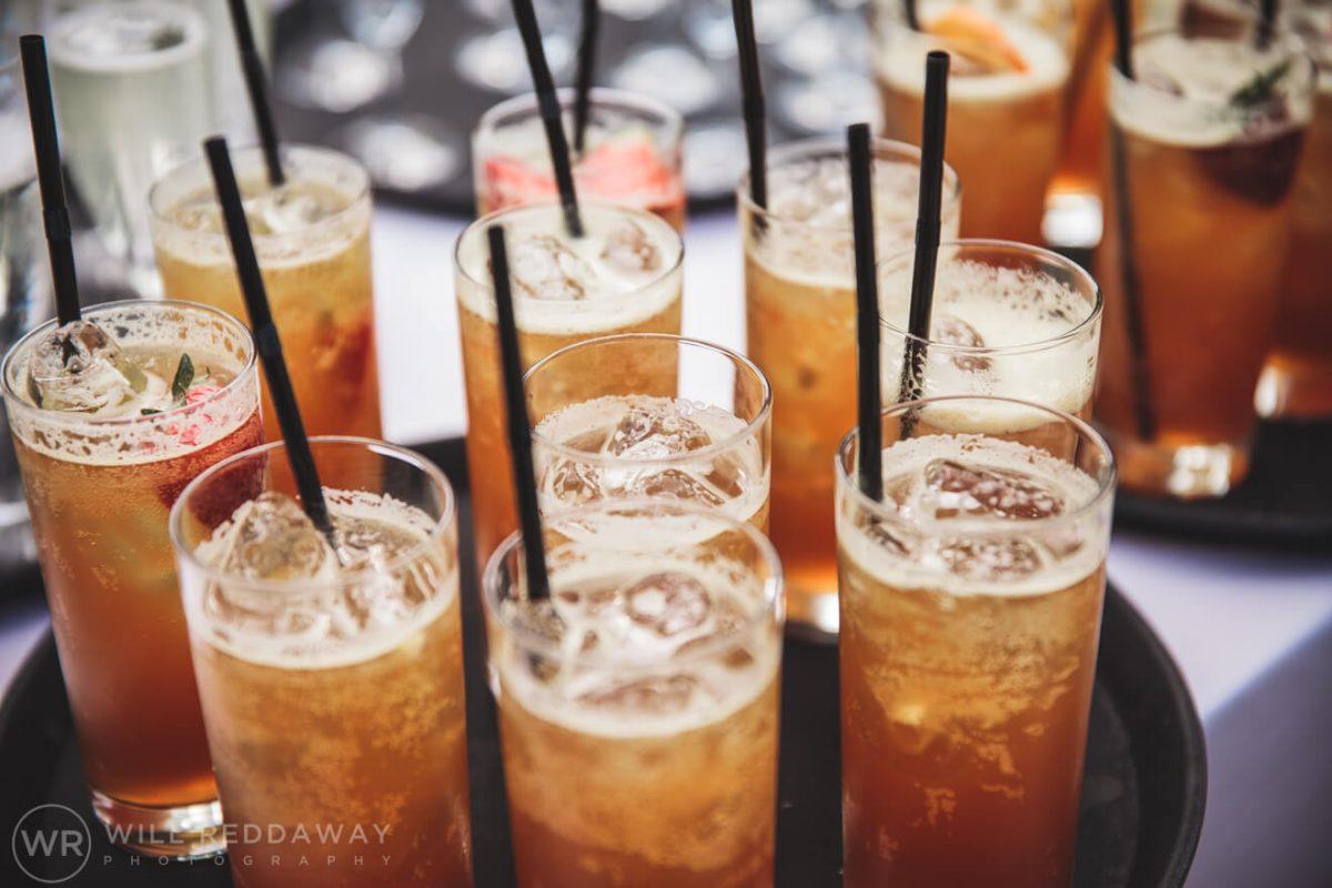 Deers Leap Retreat Wedding | Devon Wedding Photographer | Drink Reception
