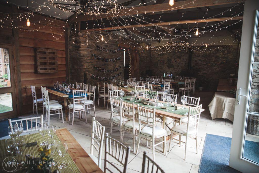 Deers Leap Retreat Wedding | Devon Wedding Photographer | Decoration