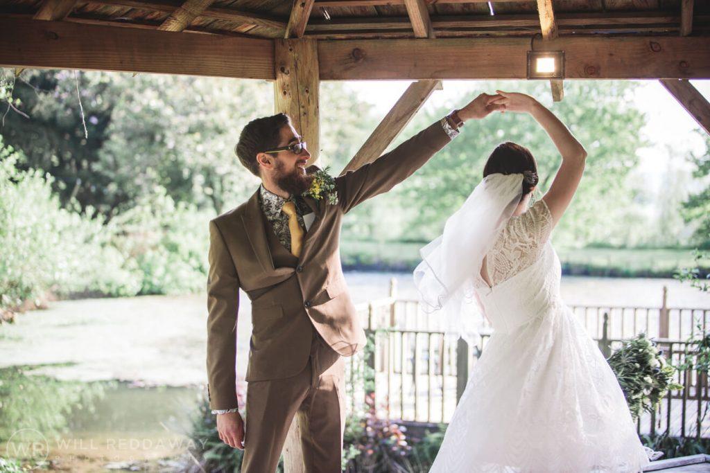 Deers Leap Retreat Wedding | Devon Wedding Photographer | Bride & Groom