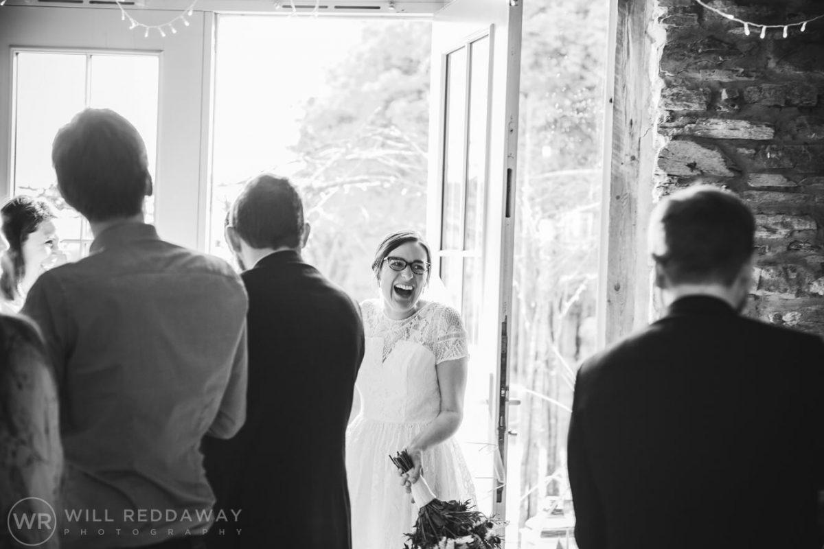 Deers Leap Retreat Wedding | Devon Wedding Photographer | Bride