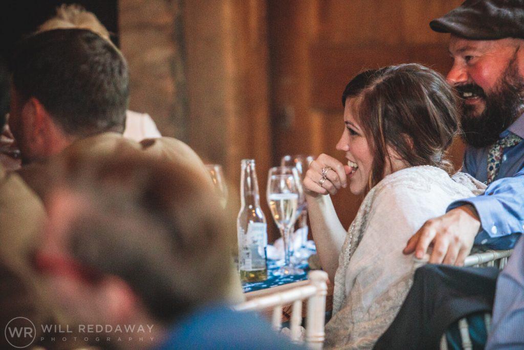 Deers Leap Retreat Wedding | Devon Wedding Photographer | Wedding Speeches