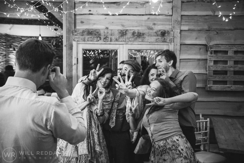 Deers Leap Retreat Wedding | Devon Wedding Photographer | Wedding Guests