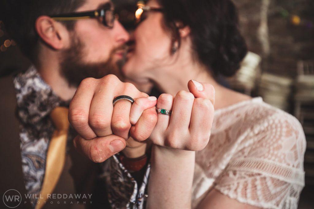 Deers Leap Retreat Wedding | Devon Wedding Photographer | Wedding Rings