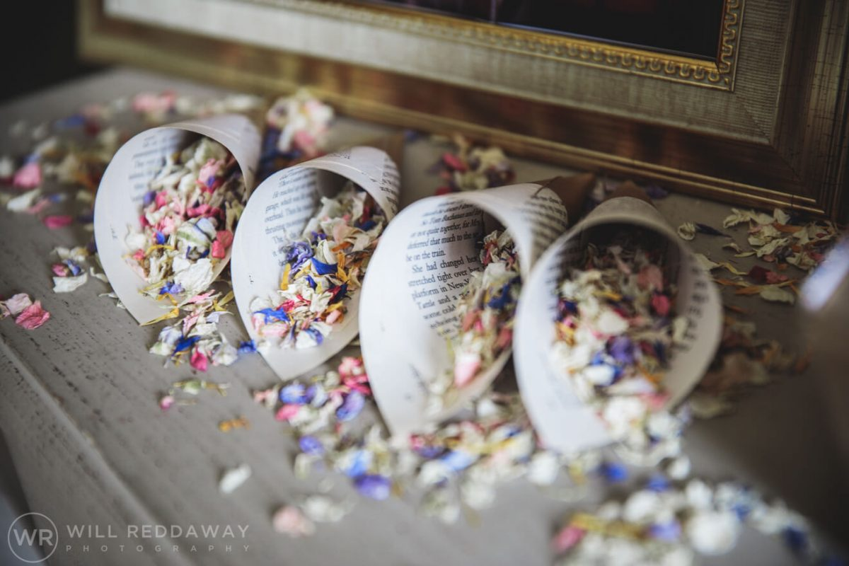 Pynes House Wedding | Devon Wedding Photographer | Confetti