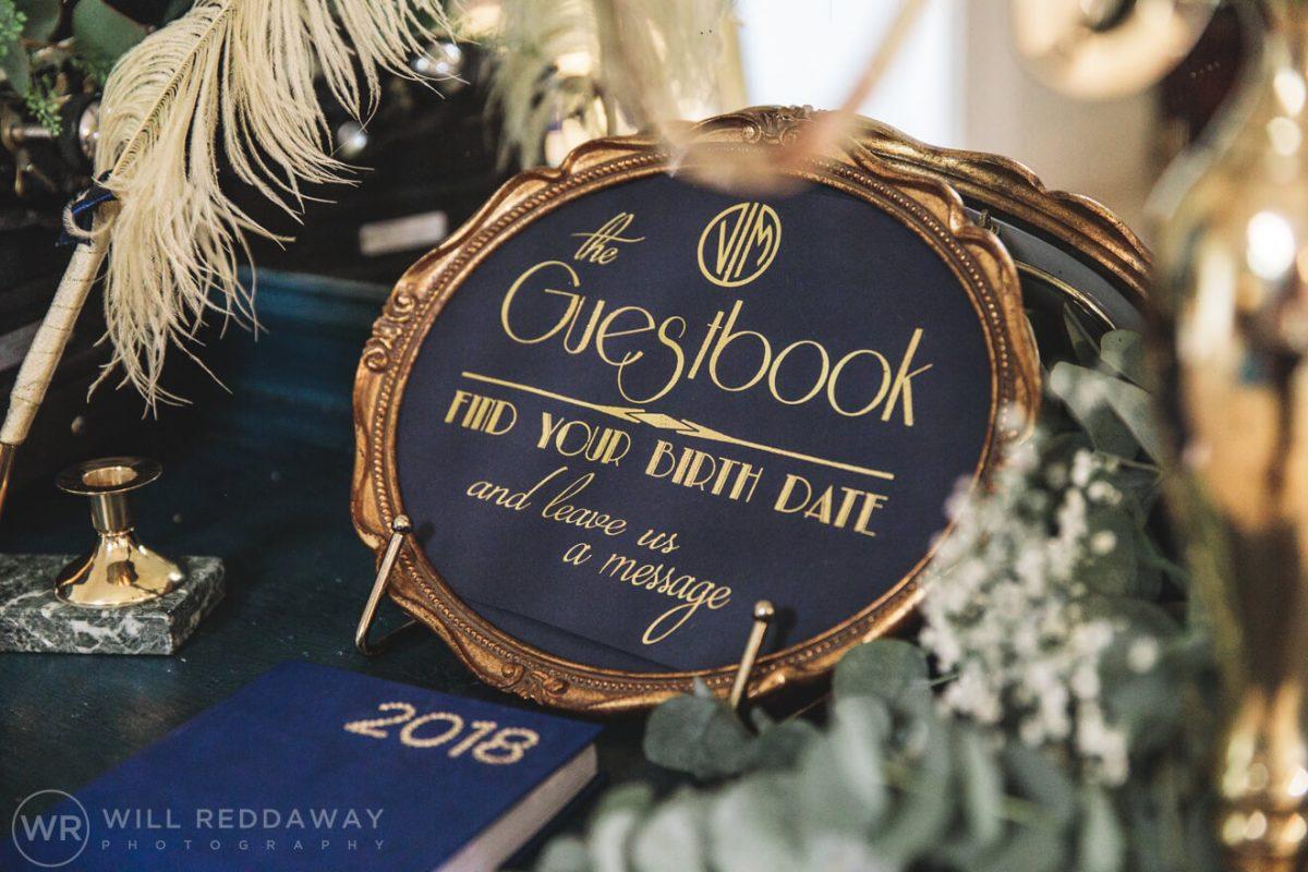 Pynes House Wedding | Devon Wedding Photographer | Guest Book