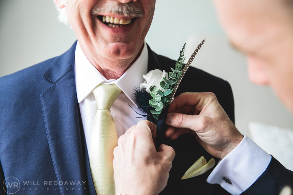 Pynes House Wedding | Devon Wedding Photographer | Groom Preparations