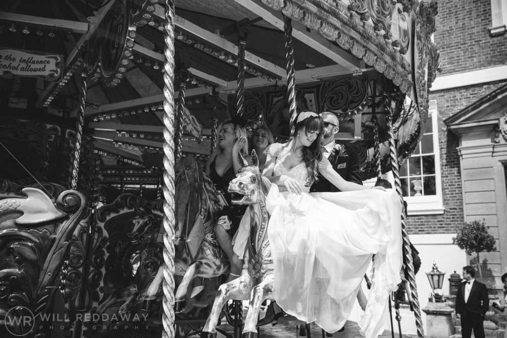 Pynes House Wedding | Devon Wedding Photographer | Carousel