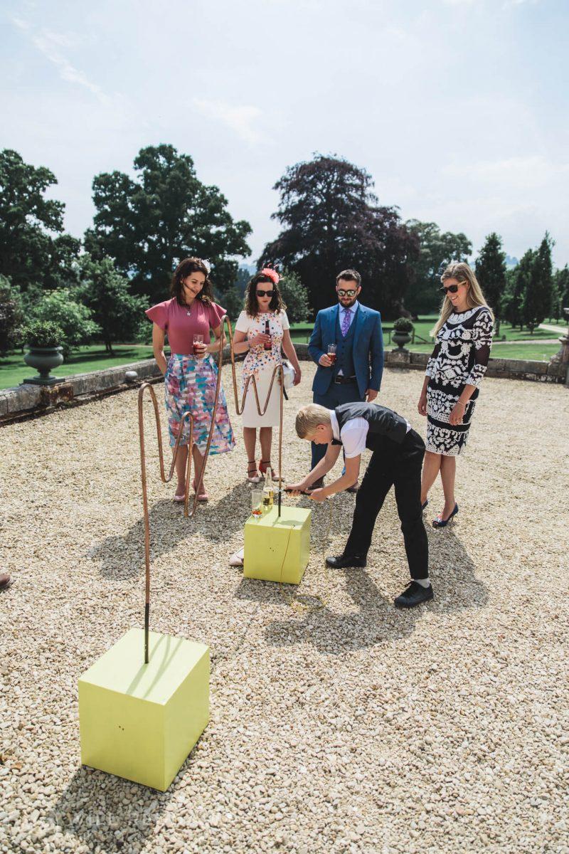 Pynes House Wedding | Devon Wedding Photographer | Wedding Games