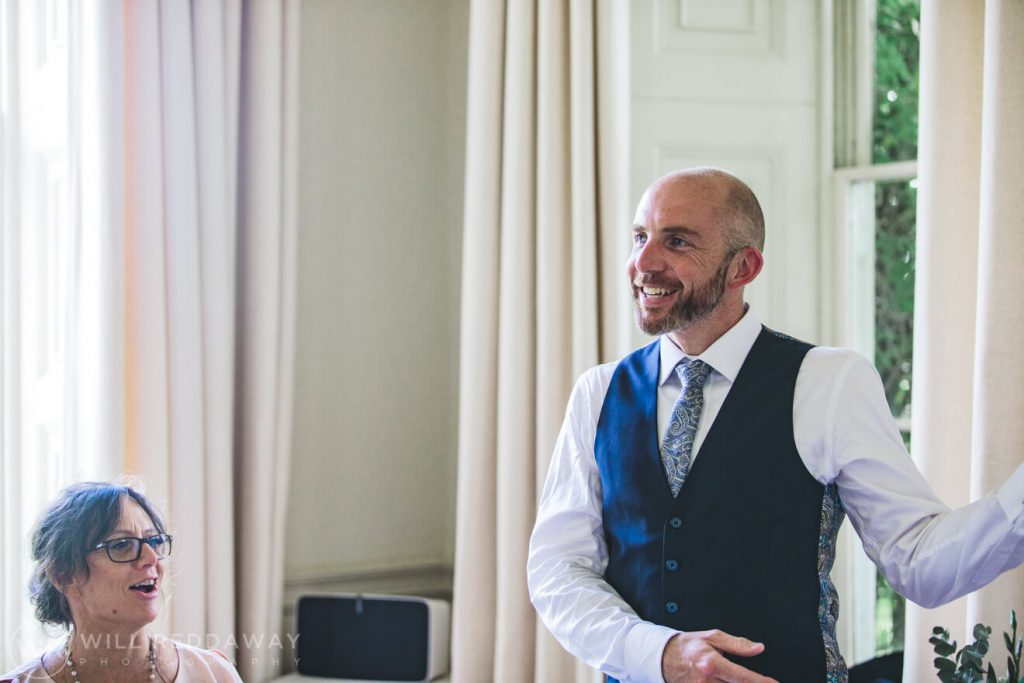 Pynes House Wedding | Devon Wedding Photographer | Speeches