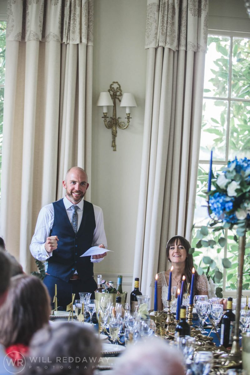 Pynes House Wedding | Devon Wedding Photographer | Speeches