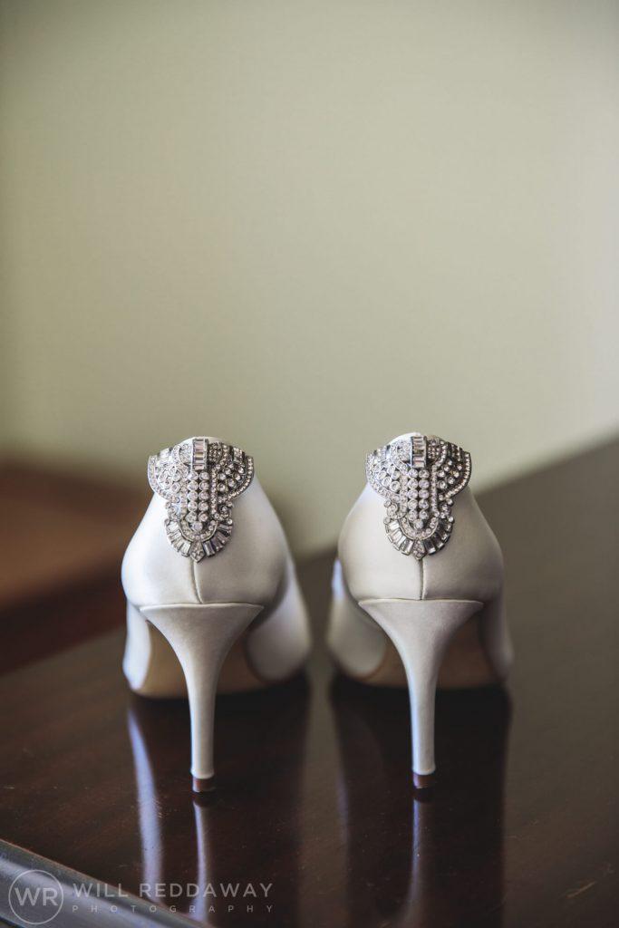 Marquee Wedding | Devon Wedding Photographer | Wedding Shoes