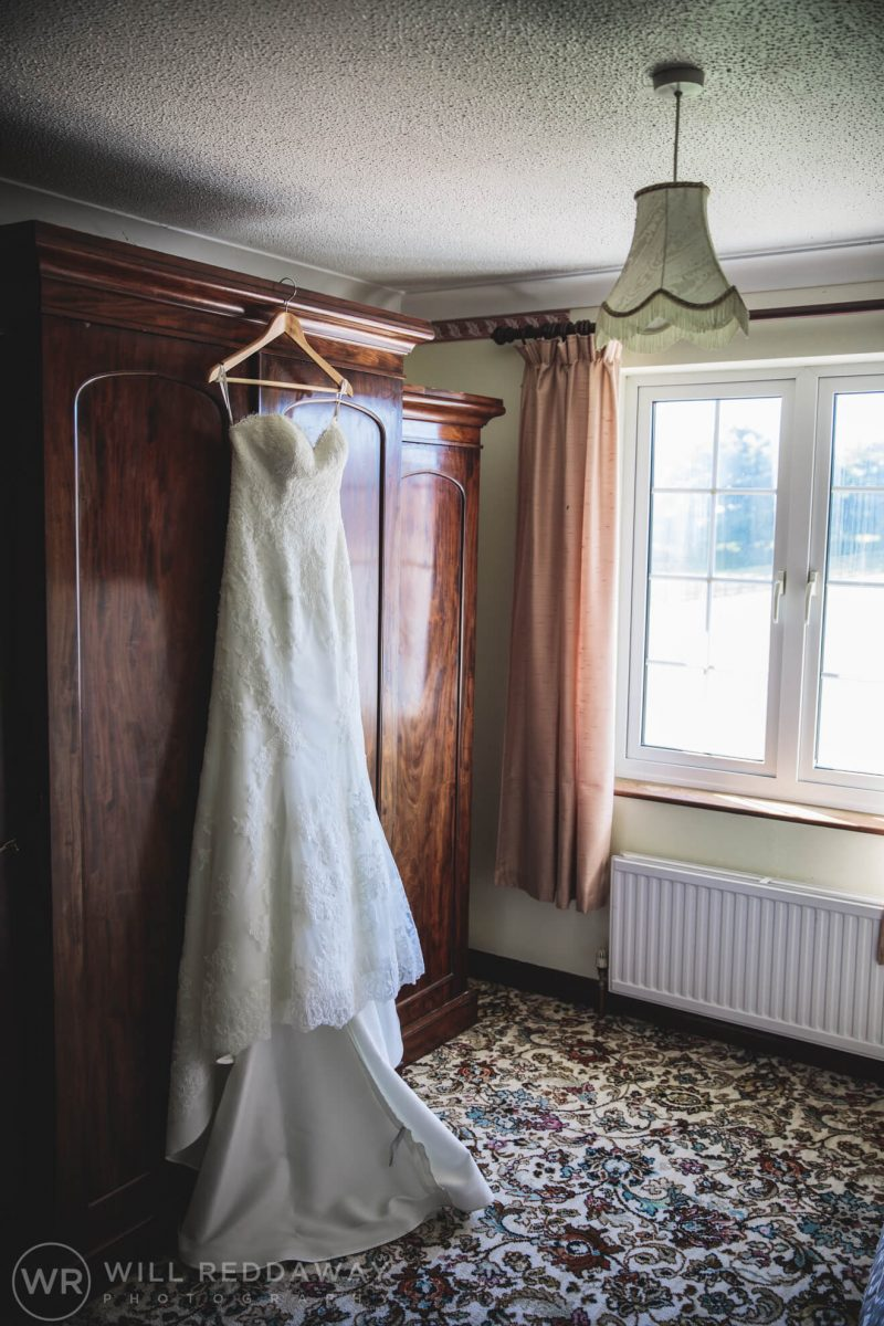 Marquee Wedding | Devon Wedding Photographer | Wedding Dress