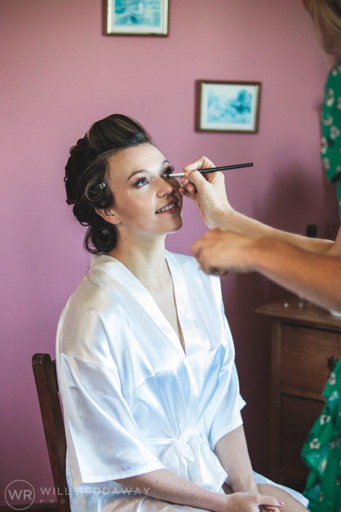 Marquee Wedding | Devon Wedding Photographer | Bridal Preparations