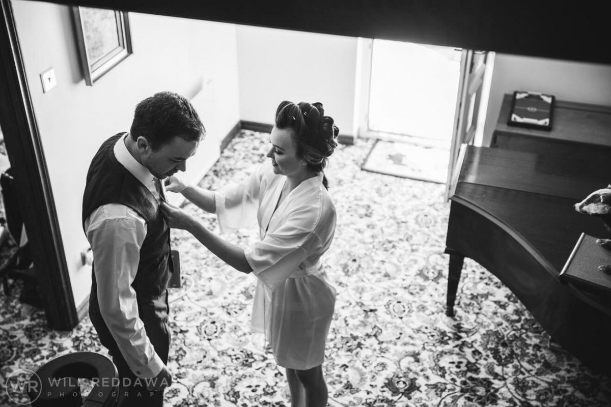 Marquee Wedding | Devon Wedding Photographer | Bridal Preparations
