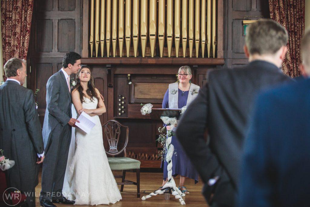 Marquee Wedding | Devon Wedding Photographer | Ceremony