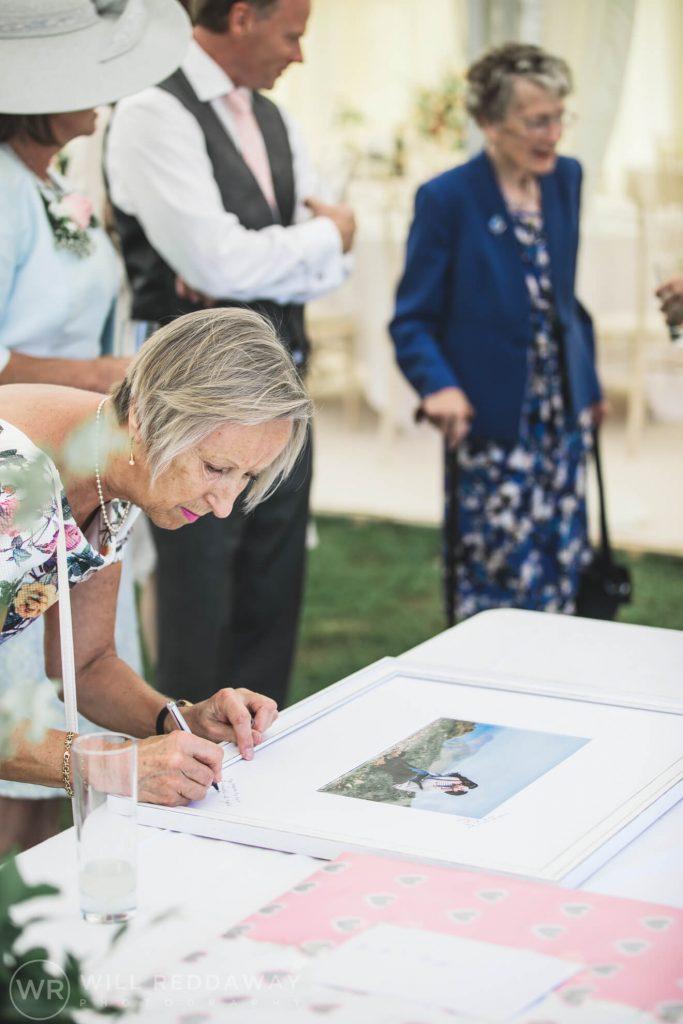 Marquee Wedding | Devon Wedding Photographer | Guests