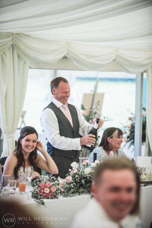 Marquee Wedding | Devon Wedding Photographer | Guests