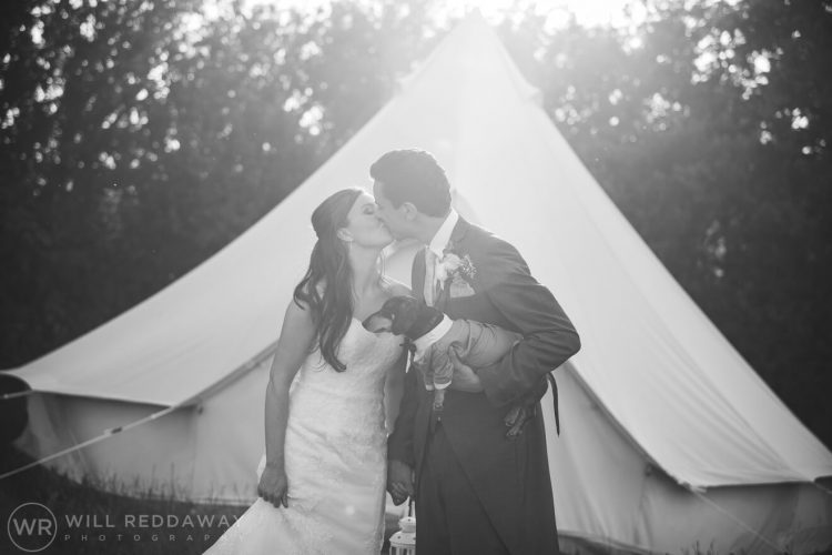 Marquee Wedding | Devon Wedding Photographer | Bride & Groom