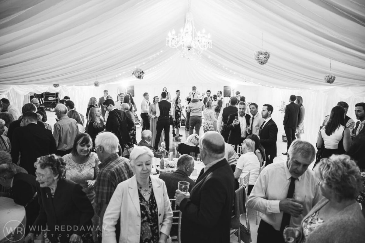 Marquee Wedding | Devon Wedding Photographer | Dancing Guests