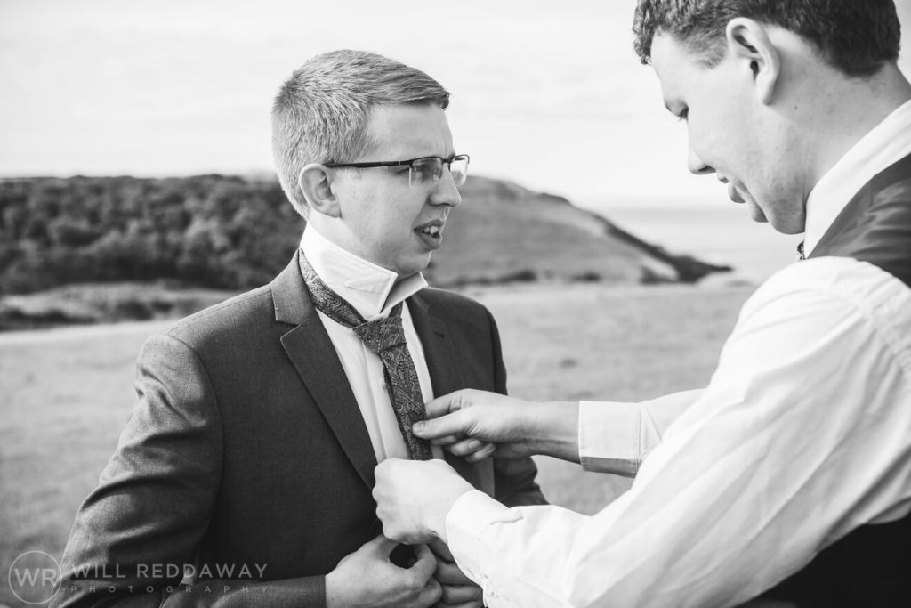 New Barton Barns Wedding | Devon Wedding | Groomsmen