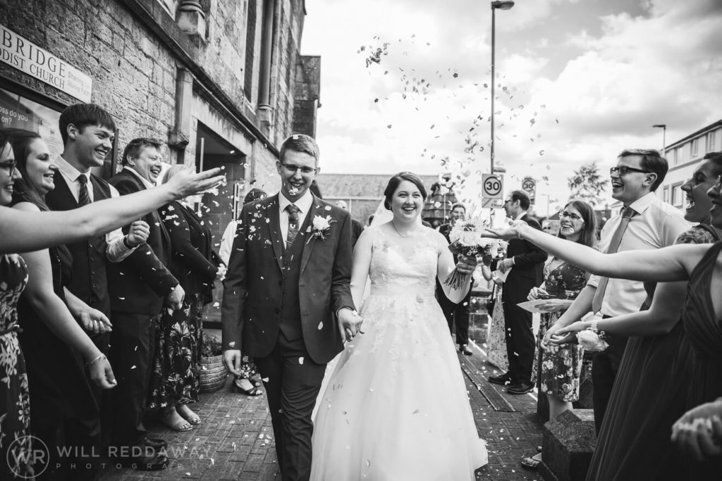 New Barton Barns Wedding | Devon Wedding | Confetti