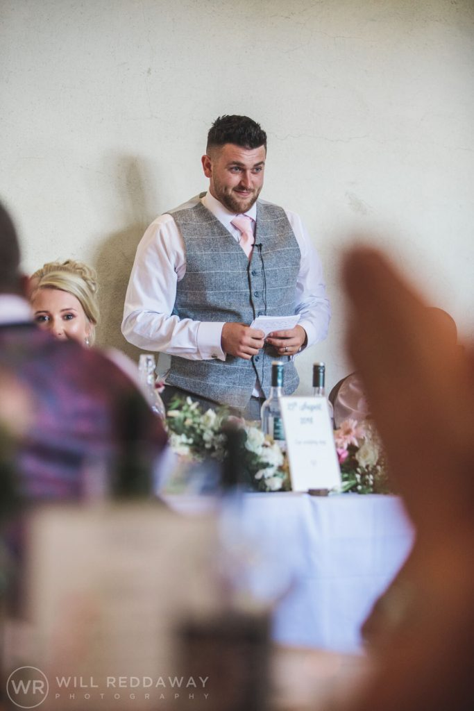 The Oak Barn Wedding | Devon Wedding Photographer | Speeches