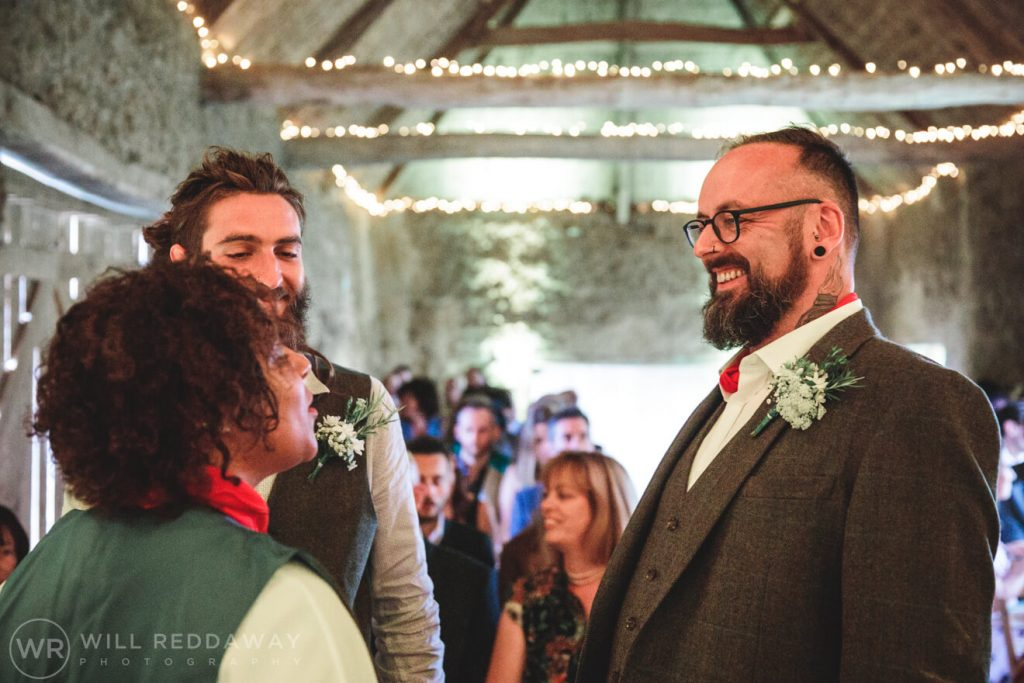 Higher Eggbeer Farm Wedding | Devon Wedding Photography | Ceremony